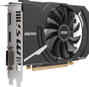 Видеокарта MSI AMD Radeon RX 550 AERO ITX OC [RX 550 AERO ITX 2G OC]