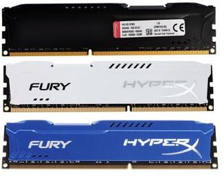 Оперативная память Kingston HyperX FURY Black Series HX318C10FB-8, HX318C10FW, HX318C10F