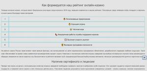 Рейтинг онлайн-казино России 2019 Топ лучших заведений