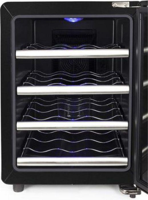 CASO WineCase Red 12, Black Steel винный холодильник