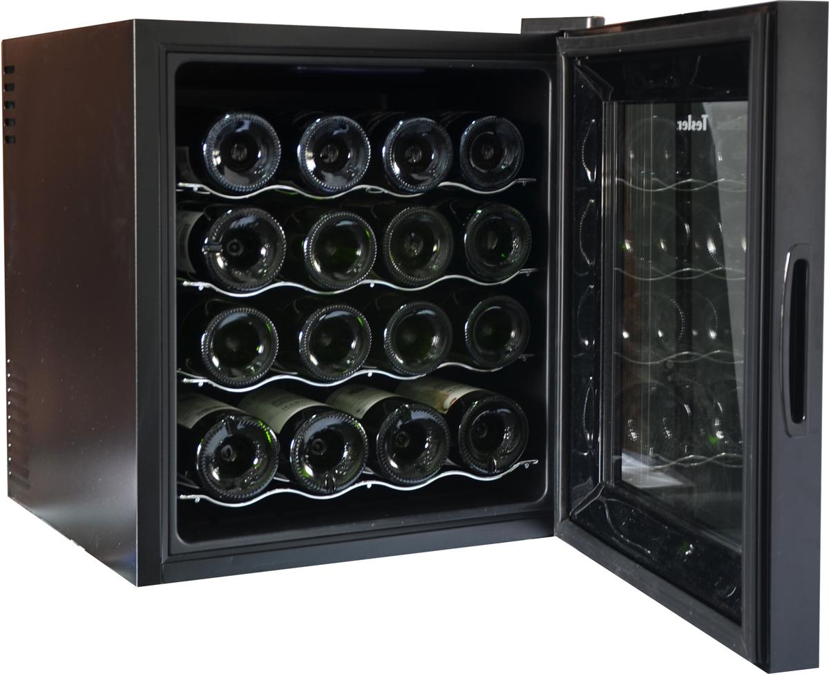 Tesler WCV-160, Black винный шкаф