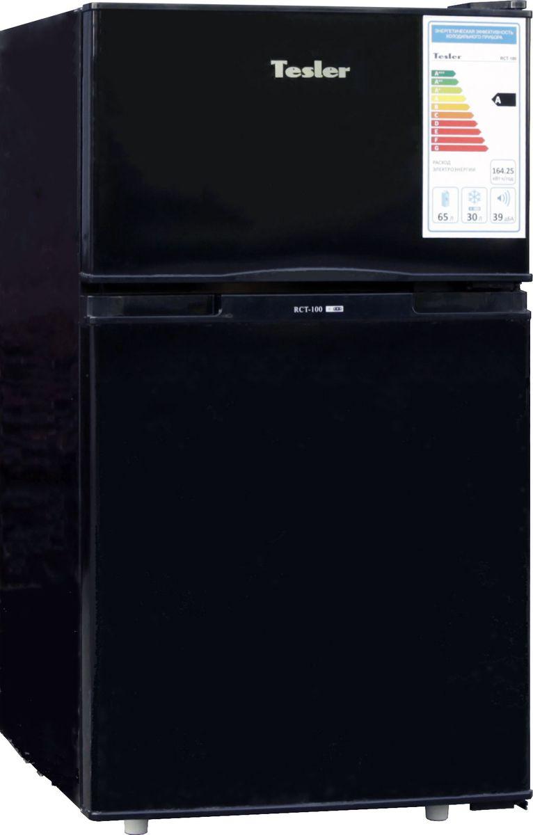 Tesler RCT-100, Black холодильник