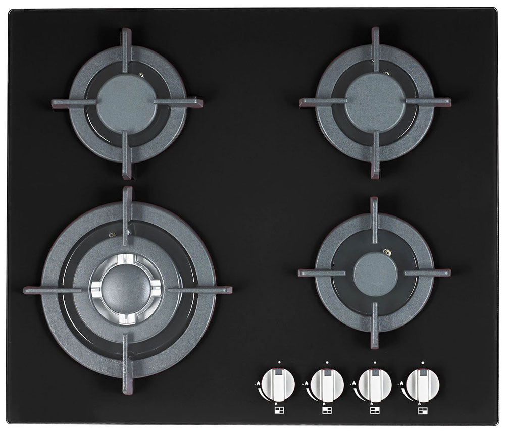 Ricci RGH-6042-2, Black варочная панель