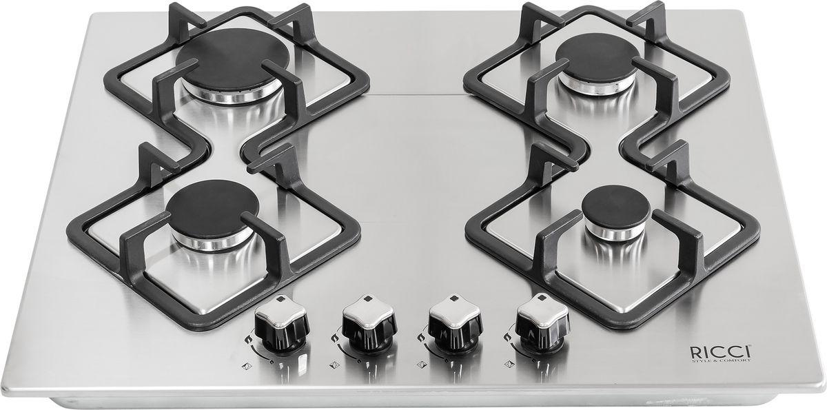 Ricci RGN-KA4009IX, Silver Grey варочная панель встраиваемая