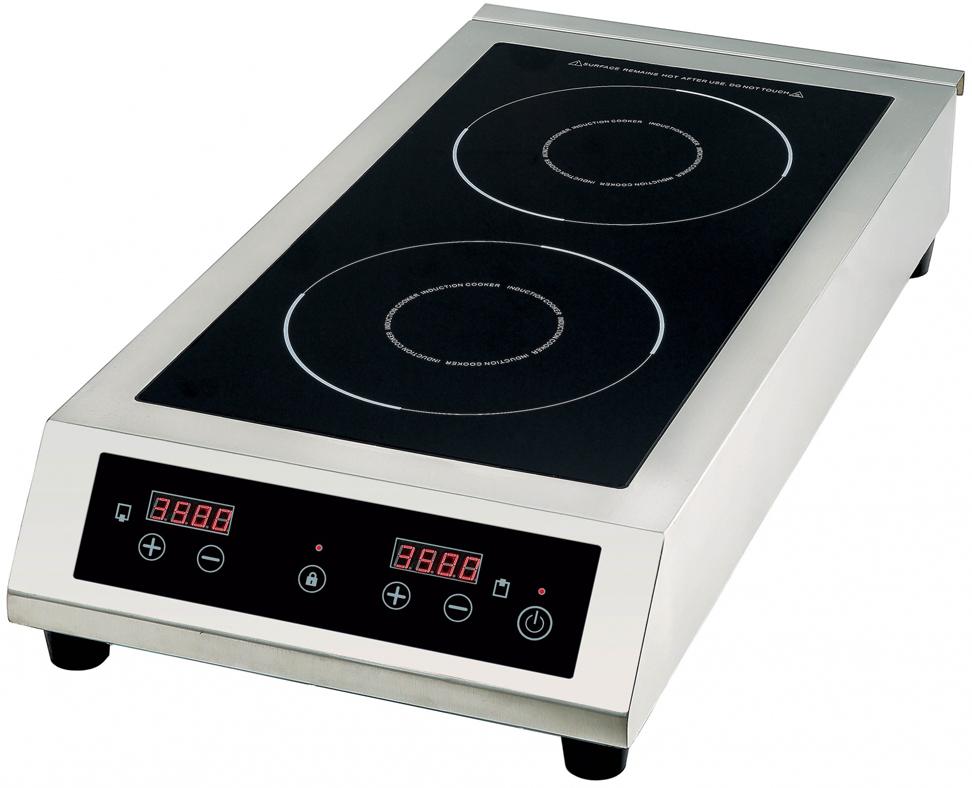 Gemlux GL-IP3535, Silver Black плитка электрическая