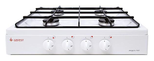 Gefest ПГ 900, White плита газовая настольная