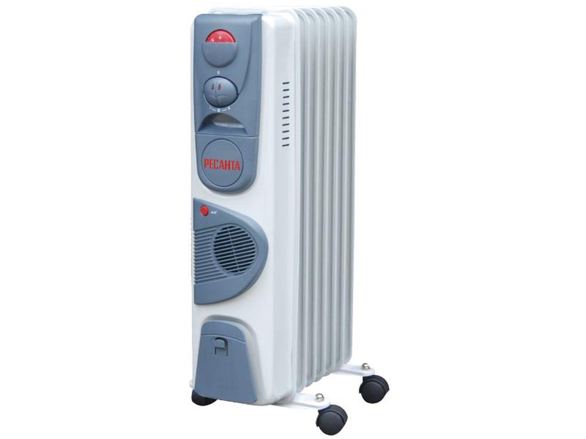 Ресанта ОМ-7НВ (1,9 кВт) напольный радиатор