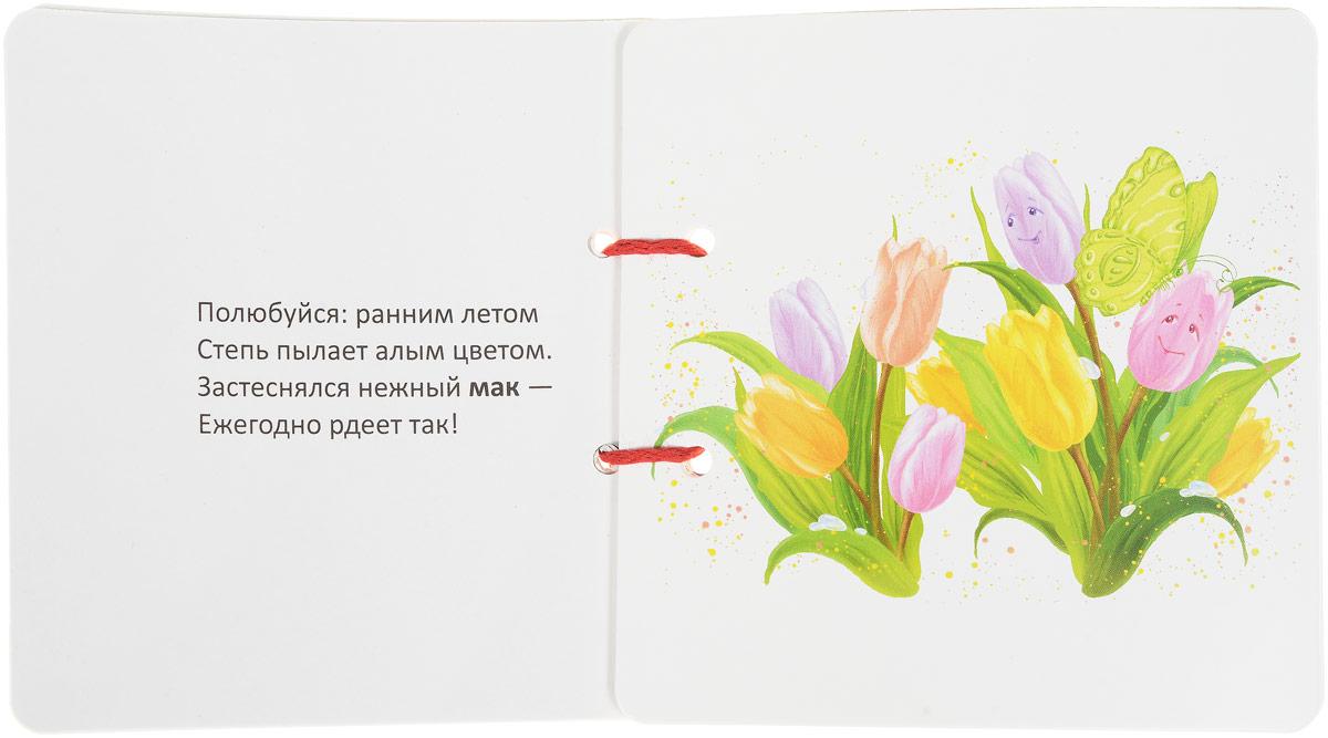 Цветы. Книжка-игрушка