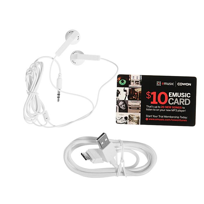 Cowon X9 16GB, White