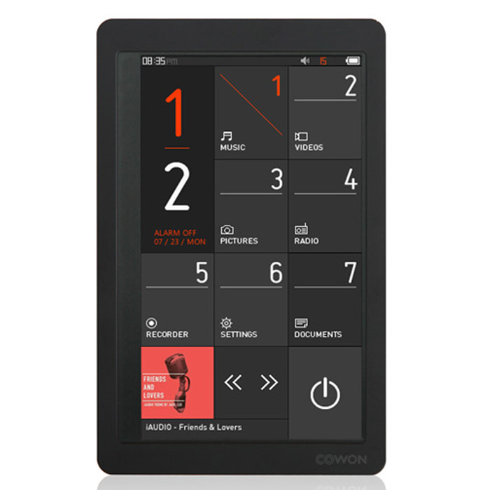 Cowon X9 32GB, Black