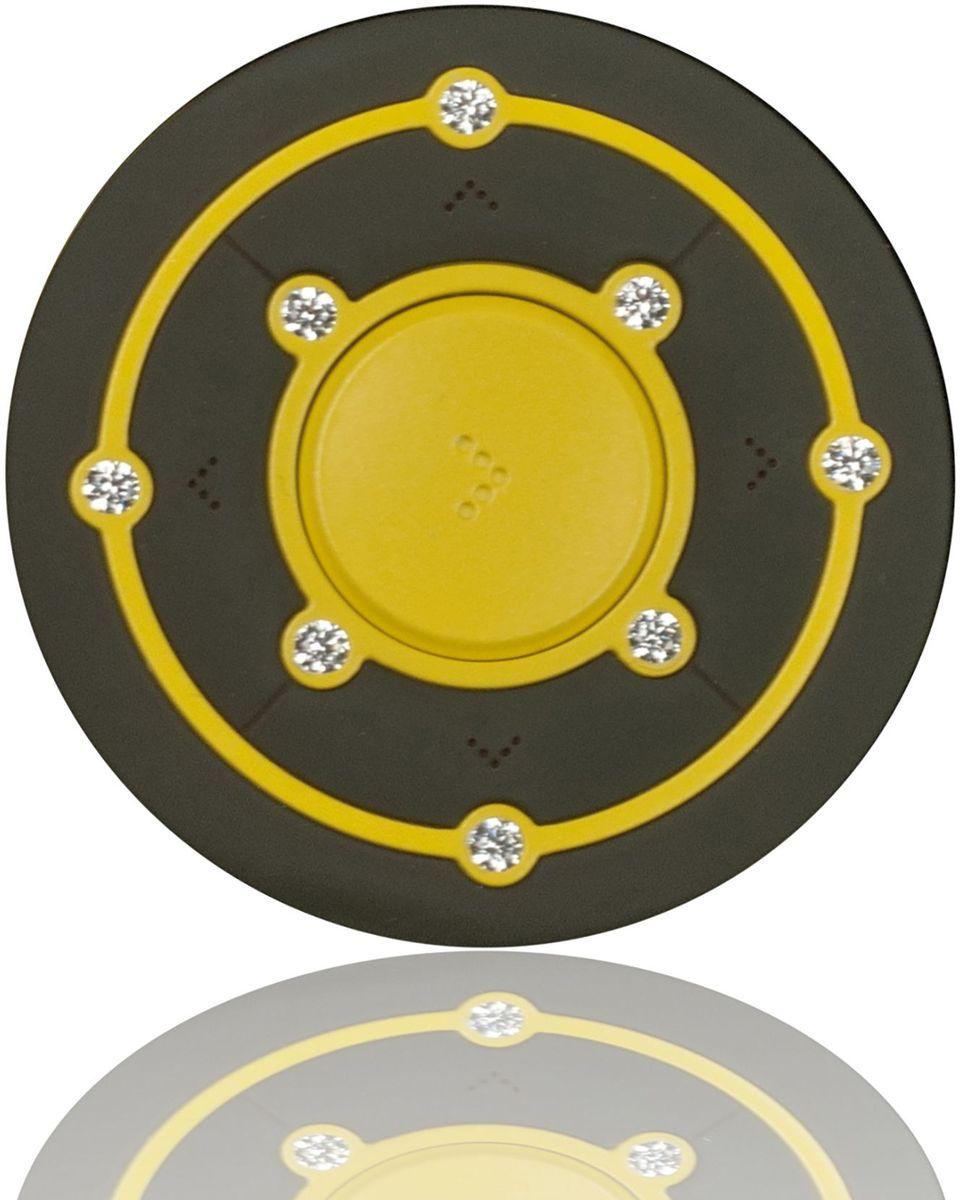 """Часы спортивные Garmin """"Fenix 5 Amp Yellow"""", цвет: желтый"""