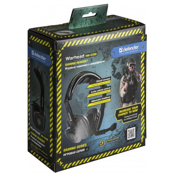 Defender Warhead HN-G150 игровые наушники