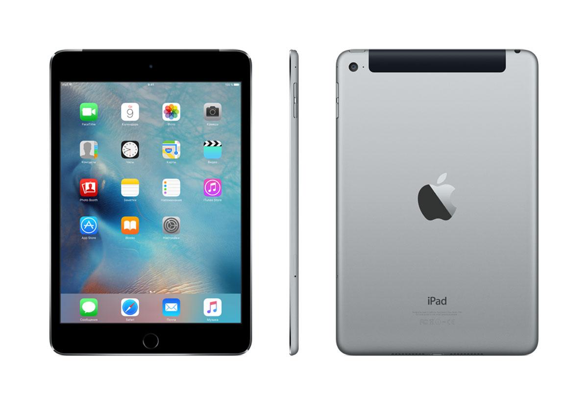 Apple iPad mini 4 Wi-Fi + Cellular 128GB, Space Gray