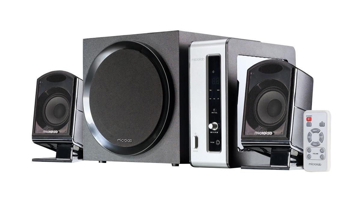 Microlab FC-550, Dark Wood акустическая система