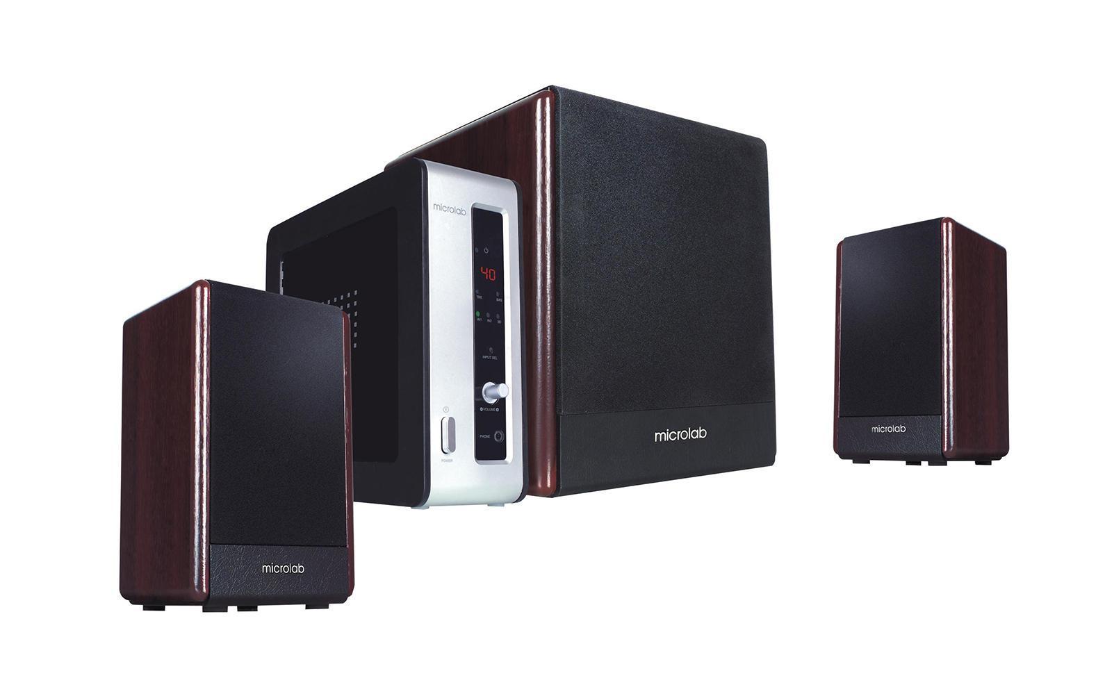 Microlab FC-530, Dark Wood акустическая система