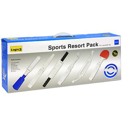 Набор спортивных аксессуаров Resort для Nintendo Wii
