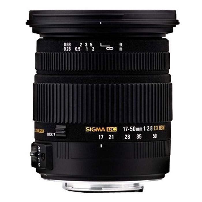 Sigma AF 17-50mm F2.8 EX DC OS HSM, Nikon