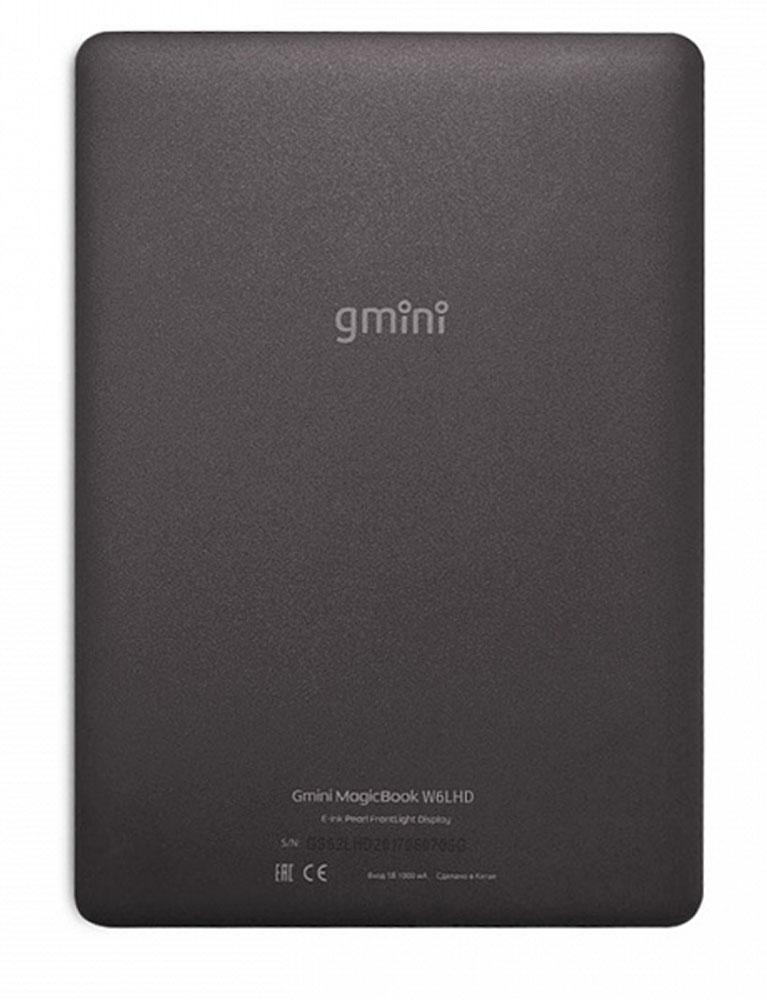 Gmini MagicBook W6LHD, Black электронная книга