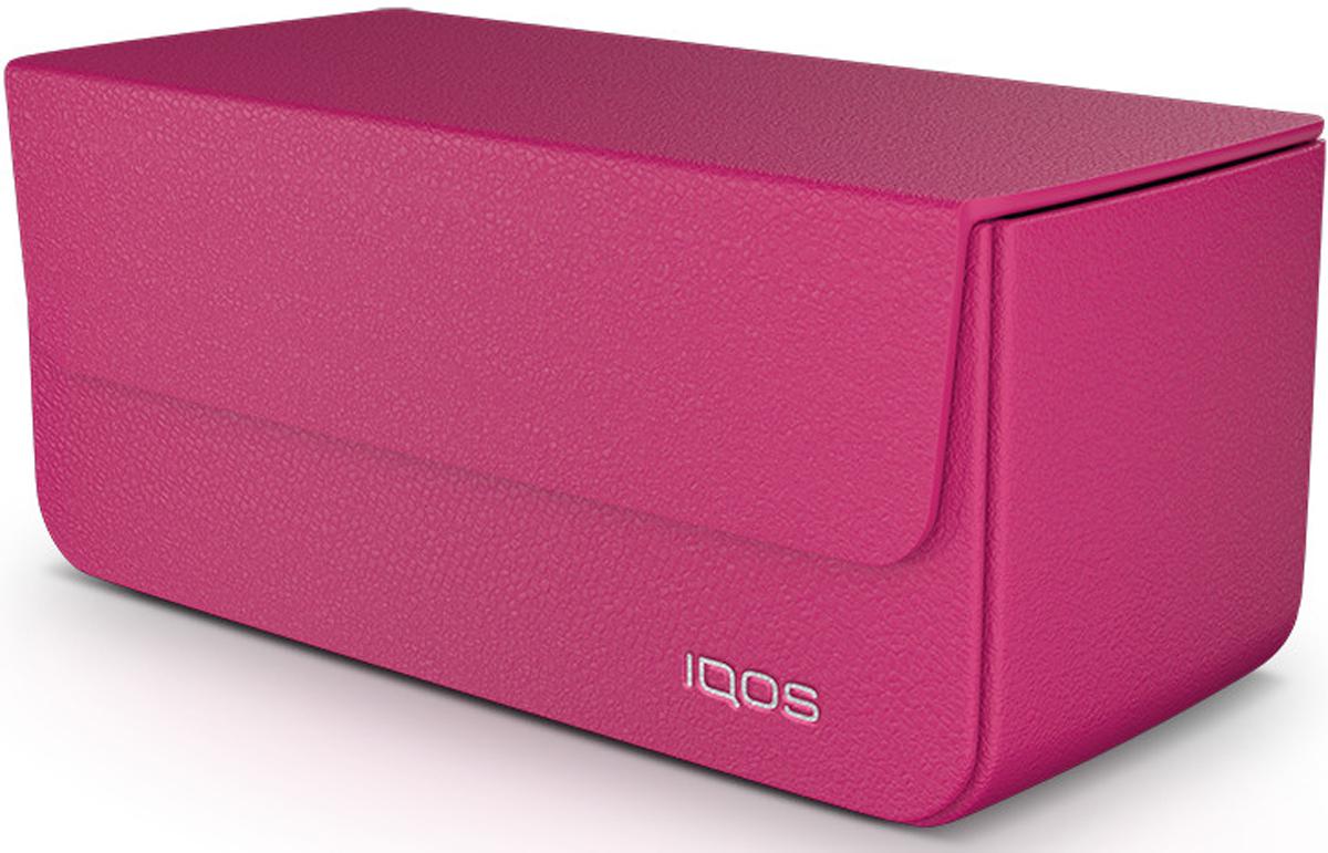 IQOS Кожаный чехол для электронной сигареты, цвет: розовый