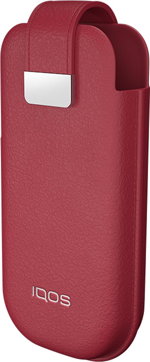 IQOS Мягкий Чехол для электронной сигареты, цвет: красный