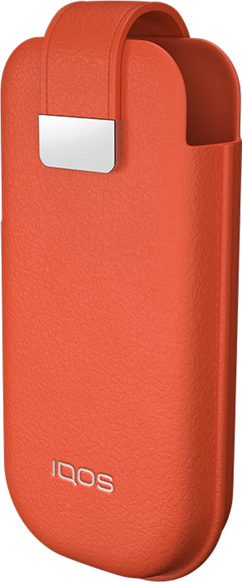 IQOS Мягкий Чехол для электронной сигареты, цвет: оранжевый