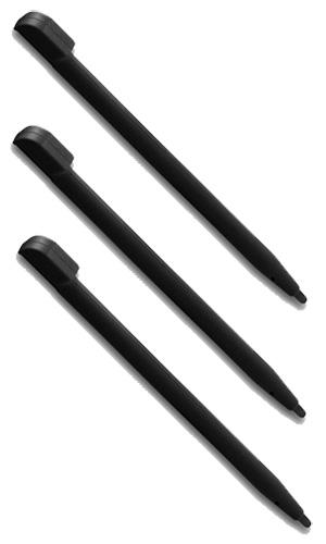 Стилус для Nintendo DS Lite черного цвета (комплект из 3 шт.)