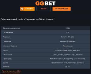 betgg.com.ua - ГГ Бет, ГГбет, GGbet, GG Bet