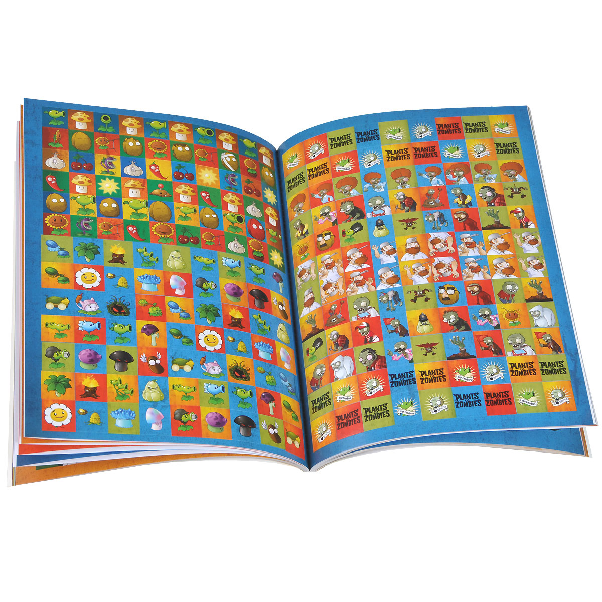 Plants vs. Zombies: Official Sticker Book