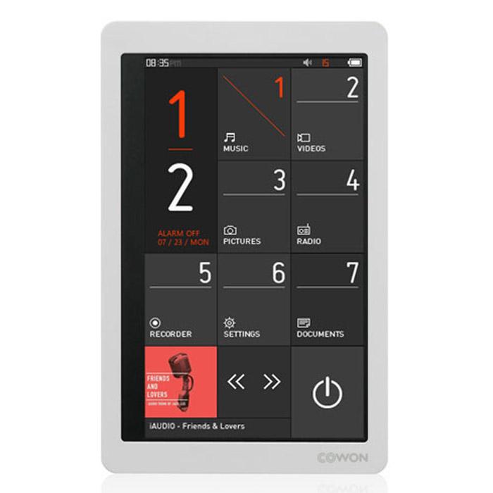 Cowon X9 8GB, White