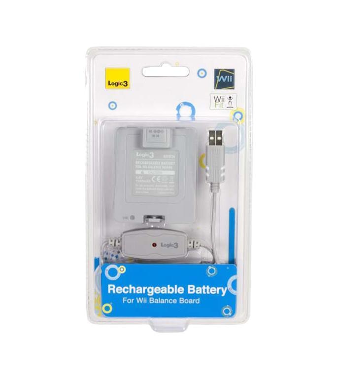 Аккумулятор для Wii Balance Board 1000 мАч + зарядный кабель USB