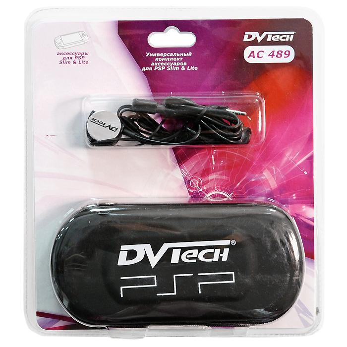 Комплект аксессуаров для PSP Slim 3 в 1 DVTech AC 489
