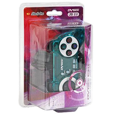 Джойстик Shock One для PC-USB (зеленый)