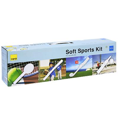 Мягкий набор спортивных аксессуаров для Nintendo Wii