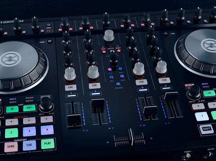 Native Instruments Traktor Kontrol S4 Mk2 DJ-контроллер