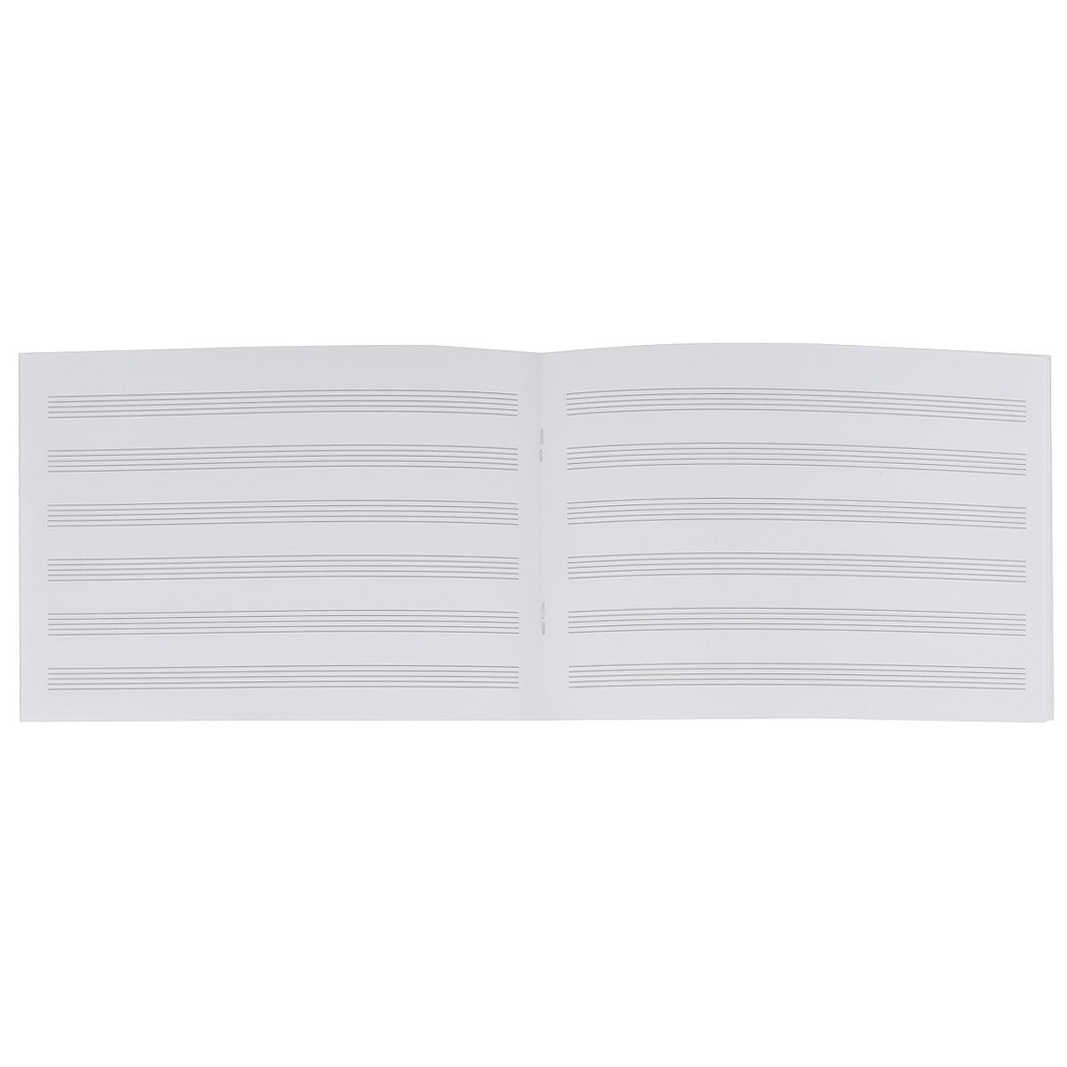 "Тетрадь для нот ""Memento Mori"", 24 листа. Формат А5"