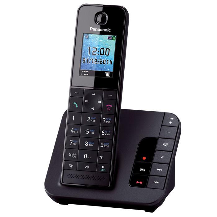 Panasonic KX-TGH220 RUB, Black DECT-телефон