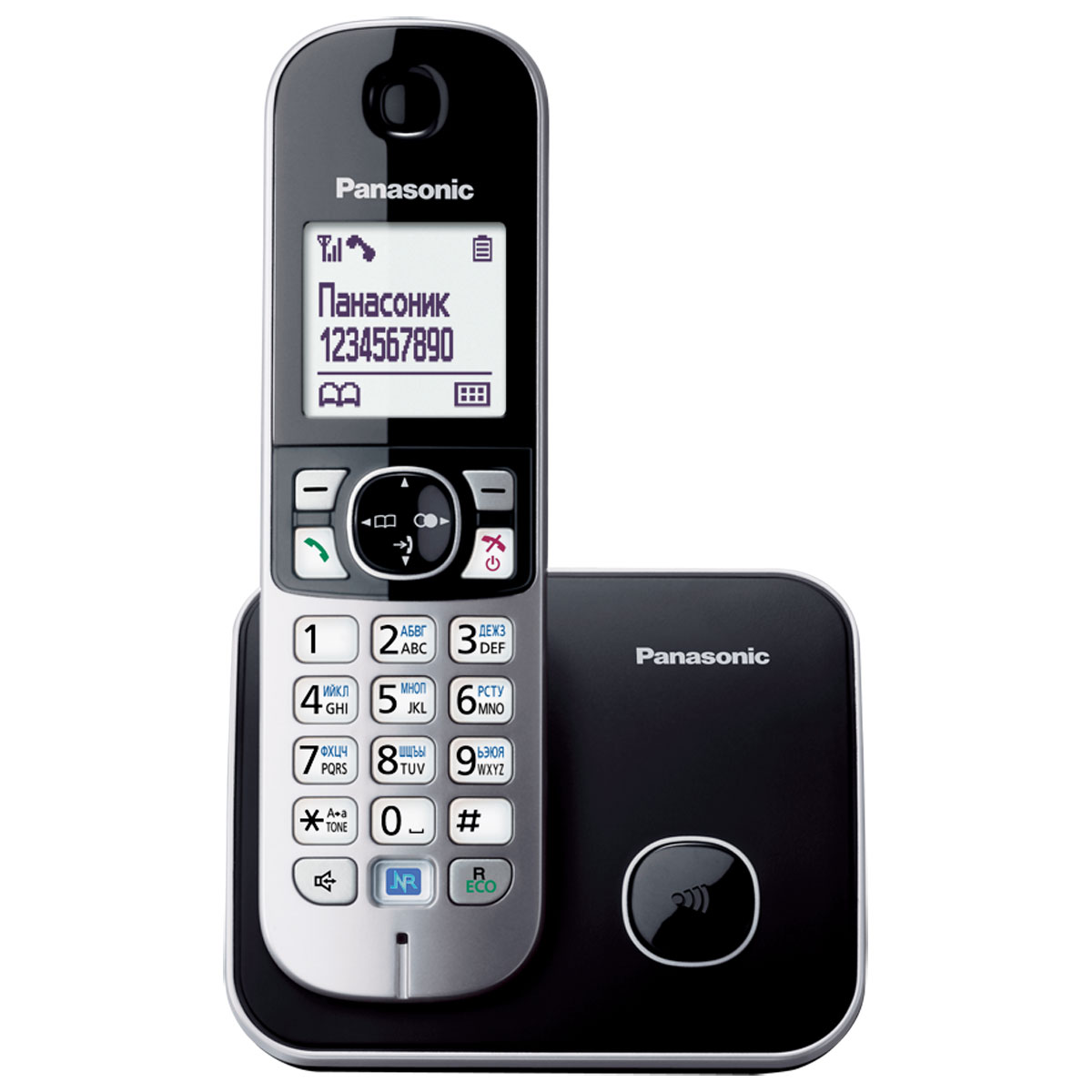 Panasonic KX-TG6811 RUM, Silver DECT-телефон