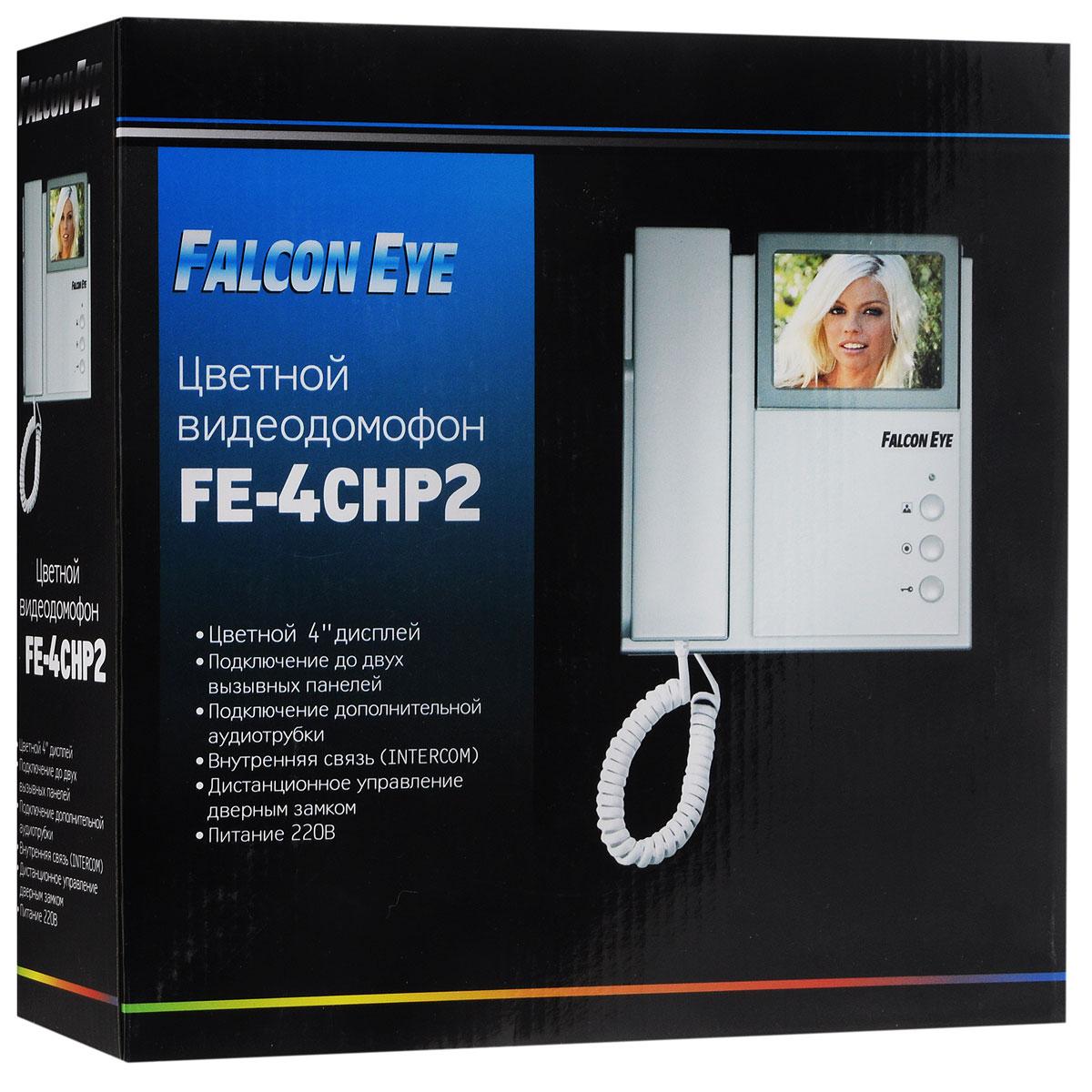 Falcon Eye FE-4CHP2 видеодомофон + AVP-505 вызывная панель