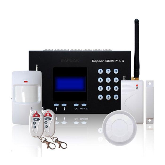 Sapsan GSM Pro 6 Умный дом GSM-сигнализация c датчиками