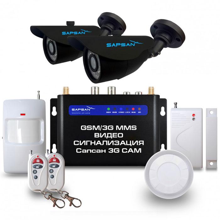 Sapsan 3G CAM Дача GSM-сигнализация (2 камеры)